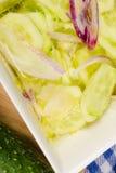 Σαλάτα αγγουριών Στοκ φωτογραφία με δικαίωμα ελεύθερης χρήσης