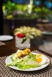 Σαλάτα αυγών στοκ φωτογραφίες με δικαίωμα ελεύθερης χρήσης