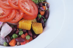 Σαλάτα, λαχανικά Στοκ φωτογραφία με δικαίωμα ελεύθερης χρήσης