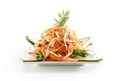Σαλάτα βιταμινών Στοκ Εικόνα