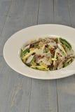 Σαλάτα γεύματος τροφίμων με τα ψάρια Στοκ Φωτογραφίες