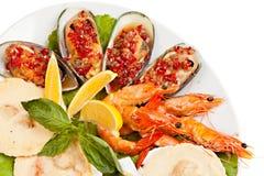 Σαλάτα θαλασσινών Στοκ Εικόνες