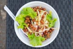 Σαλάτα μάγκο με καυτός και πικάντικος Στοκ Φωτογραφίες