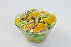 Σαλάτα με τα φρούτα και λαχανικά Στοκ Φωτογραφία