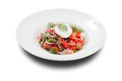 Σαλάτα με το λαθραίο αυγό Στοκ εικόνες με δικαίωμα ελεύθερης χρήσης