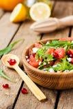Σαλάτα με το γκρέιπφρουτ και το τυρί Στοκ Εικόνα