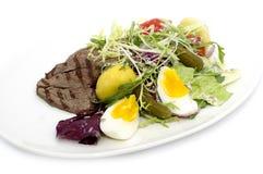 Σαλάτα με το κρέας Στοκ φωτογραφία με δικαίωμα ελεύθερης χρήσης