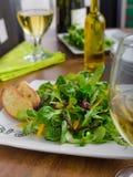 Σαλάτα με το arugula και τα πιπέρια Στοκ Φωτογραφία