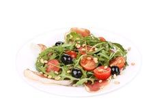 Σαλάτα με το arugula και το prosciutto Στοκ εικόνες με δικαίωμα ελεύθερης χρήσης