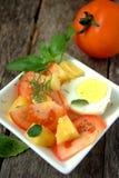 Σαλάτα ντοματών και ανανά Στοκ εικόνα με δικαίωμα ελεύθερης χρήσης