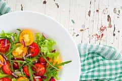 Σαλάτα ντοματών Στοκ εικόνες με δικαίωμα ελεύθερης χρήσης