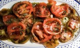 Σαλάτα ντοματών Στοκ Εικόνα
