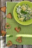 Σαλάτα πατατών Στοκ φωτογραφίες με δικαίωμα ελεύθερης χρήσης