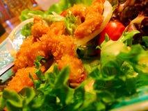 σαλάτα που βλασταίνεται στενή επάνω στο λαχανικό Στοκ εικόνα με δικαίωμα ελεύθερης χρήσης
