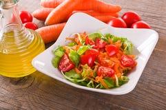 σαλάτα που βλασταίνεται στενή επάνω στο λαχανικό στοκ φωτογραφίες