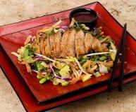 σαλάτα Ταϊλανδός κοτόπου& Στοκ εικόνα με δικαίωμα ελεύθερης χρήσης