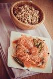 Σαλάτα της Κίνας - funchoza Στοκ εικόνες με δικαίωμα ελεύθερης χρήσης