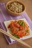 Σαλάτα της Κίνας - funchoza Στοκ Εικόνα