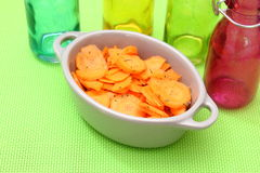 Σαλάτα των καρότων στοκ φωτογραφίες