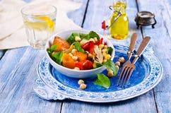Σαλάτα των ψημένων λαχανικών Στοκ φωτογραφία με δικαίωμα ελεύθερης χρήσης