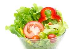 Σαλάτα φρέσκων λαχανικών. Στοκ εικόνες με δικαίωμα ελεύθερης χρήσης