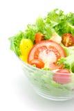 Σαλάτα φρέσκων λαχανικών. Στοκ Φωτογραφίες
