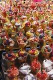Σαλάτα φρούτων σε take-$l*away Στοκ Εικόνα