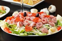 Σαλάτα Antipasto Στοκ Εικόνα