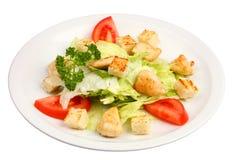 Σαλάτα Caesar κοτόπουλου στοκ εικόνες