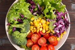 Σαλάτα Rainbowl, χορτοφάγο κύπελλο Στοκ εικόνα με δικαίωμα ελεύθερης χρήσης