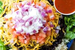 Σαλάτα Taco στοκ φωτογραφία με δικαίωμα ελεύθερης χρήσης
