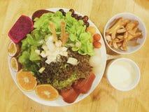 Σαλάτες λουκάνικων Στοκ Φωτογραφία