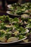 Σαλάτες τυριών και πεκάν UEBL της Apple Στοκ Εικόνες