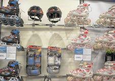 Σαλάχια κυλίνδρων στο κατάστημα Στοκ Εικόνες
