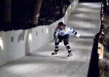 Σαλάχι αθλητικών τύπων προς τα κάτω Στοκ Εικόνες