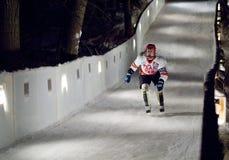 Σαλάχι αθλητικών τύπων προς τα κάτω Στοκ φωτογραφία με δικαίωμα ελεύθερης χρήσης