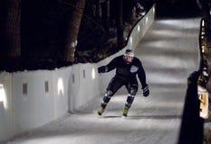 Σαλάχι αθλητικών τύπων προς τα κάτω Στοκ Εικόνα