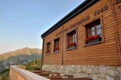 Σαλέ βουνών στη Σλοβακία στοκ φωτογραφία