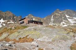 Σαλέ βουνών Στοκ εικόνες με δικαίωμα ελεύθερης χρήσης