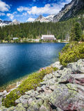 Σαλέ σε υψηλό Tatras, Σλοβακία Στοκ Εικόνες