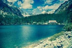Σαλέ σε υψηλό Tatras, Σλοβακία Στοκ φωτογραφία με δικαίωμα ελεύθερης χρήσης