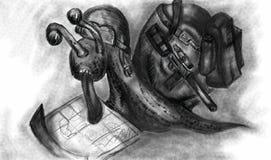 Σαλιγκάρι ελεύθερη απεικόνιση δικαιώματος