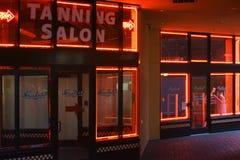 Σαλόνι Μπέρκλεϋ μαυρίσματος Soleil Στοκ Εικόνες