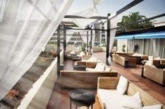 Σαλόνι ξενοδοχείων Στοκ φωτογραφία με δικαίωμα ελεύθερης χρήσης
