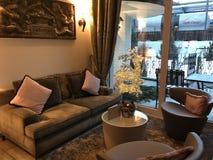 Σαλόνι ξενοδοχείων Στοκ Εικόνα