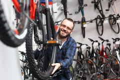 Σαλόνι ποδηλάτων στοκ εικόνες με δικαίωμα ελεύθερης χρήσης