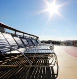 Σαλόνι στο σκάφος Στοκ φωτογραφία με δικαίωμα ελεύθερης χρήσης