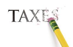 σβήνοντας φόροι στοκ εικόνα με δικαίωμα ελεύθερης χρήσης