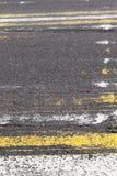Σβημένα οδικά σημάδια Στοκ φωτογραφία με δικαίωμα ελεύθερης χρήσης