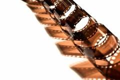 σγουρή σπείρα ταινιών Στοκ εικόνα με δικαίωμα ελεύθερης χρήσης